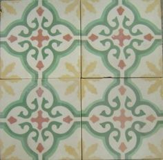 Cuban Tropical Tile - Sofia Yellow / In Stock