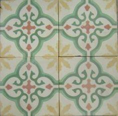 Cuban Tropical Tile - Sofia Yellow / In Stock