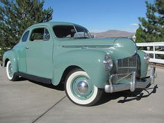 Dodge : Other Business coupe 1940 Dodge Brothers Business 2 Door Coupe Old Resto, Runs & Drives Great Rat Rod