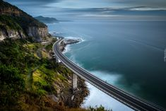 Australia, Nowa Południowa Walia, Most Sea Cliff, Wybrzeże, Góry,  Morze