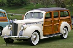 A Dream Car!  1940 Packard woody  #chatwrks @TheDailyBasics ♥♥♥