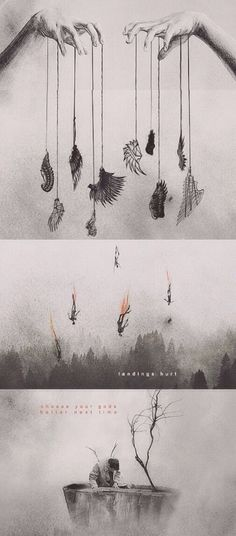 Landings hurt...choose your gods better next time #spn