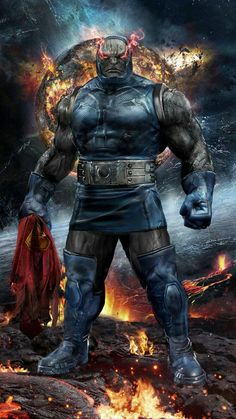 Darkseid by John Gallagher - DC Comics Marvel Dc Comics, Heros Comics, Dc Comics Art, Marvel Vs, Dc Heroes, Dc Super Heroes, Marvel Memes, Comic Book Characters, Comic Book Heroes