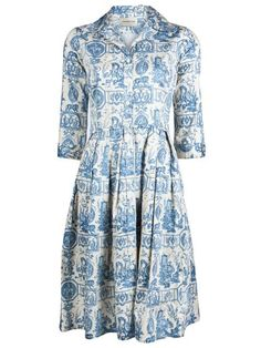 French Toile Dress... farfetch.com
