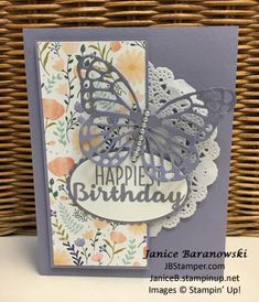 FMS325-Butterflies & Flowers for spring – JB Stamper