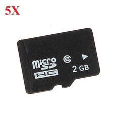 5X 2GB Micro SD TF Memory Card For RC Quadcopterr Camera #memorycards #rcparts #rcmemory #rcstuff | eBay