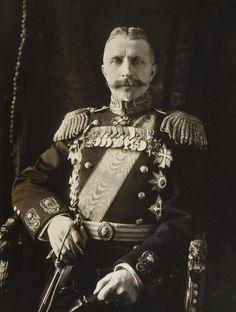 """Portrait of Admiral Alexander Rusin Russia in 1913. """"AL"""""""