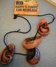 AMC's The Walking Dead Daryl Dixon Zombie Ear Necklace