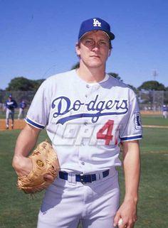 1988 Topps Baseball Original Color Negative. Brad Havens DODGERS
