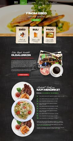 This website gives the user a clear visual picture of whats available at this restaurant. I like the vivid picture and the layout of the whole page. Everything is centered and aligned neatly. Gives the viewer a good idea of what this restrain its like.