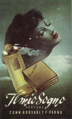 By Gino Boccasile (1901-1952), Il mio sogno  profumo.(I)
