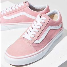 These Are So Incredibly Cute. They Are Really Comfy And Pretty. Would Definitely Recommend. I Got Them But They Dont Fit Me:( Feel Free To Leave Offers!- They Are In Practically Perfect Condition!- I Dont Have The Tags Anymore But They Are Brand New!-Plz Ask Any Questions You May Have! Vans Shoes Women Outfit, Women's Shoes, Womens Shoes Wedges, Vans Women, Shoes Style, Pink Vans Shoes, Casual Shoes, Nike Shoes, Fall Shoes