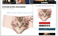 Why Don't I Have This Kitten Print Boypants, Meeeeeooooow! - Why Don't I Have This