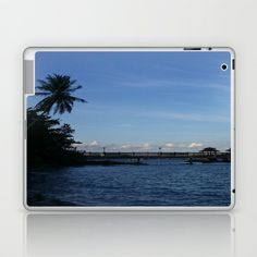 IT'S BLUE OUT THERE Laptop & iPad Skin by Annie Koh - $25.00
