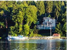 Serenity on Eagle Harbor at Bainbridge Island, WA   Nearly 5000 sq ft of contemporary luxury in a unique multi-level design that's ideal for multi-generational living.