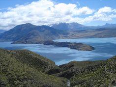 Lago Pueyrredón, Santa Cruz, Patagonia.