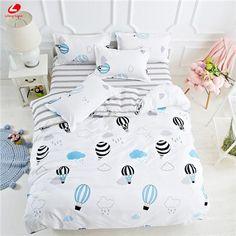Black rose bedding set Rose Heart duvet cover 3 or 4pcs/set Summer bed set white bedclothes Flora flat sheet daisy kid bedlinen