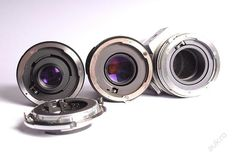 3 objektivy Tamron na bajonet Nikon