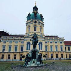 Schloß Charlottenburg. #Berlin #travel #Germany #Deutschland #iloveberlin #ichliebeberlin #visit_berlin
