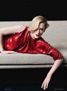 Cate Blanchett for Vanity Fair Magazine,France, April 2014