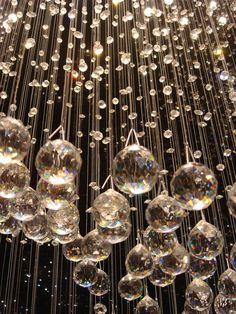 A rainstorm of crystals. Love love love!!!  #rainstorm #crystals #rain
