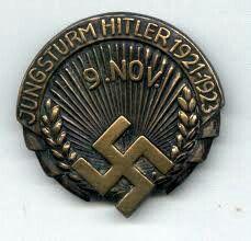 Ehrenzeichen des Jungsturms Adolf Hitler Ww2, Coins, Germany, History, Hanging Medals, War, German Language, Merit Badge, World War One