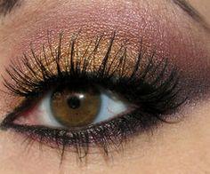 smokey color eyes