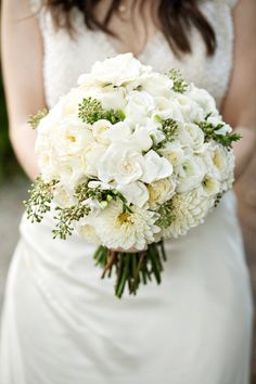 L.A. Wedding ~ This bouquet just seems like it smells yummy! http://greenwichfloral.net, Photography by nextexitphotography.com