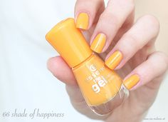 essence the gel nail polish 66 shade of happiness