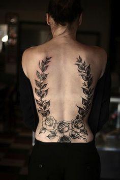 38 Low Back Tattoo