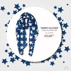 Stoklar Tükenene Kadar, Tommy Hilfiger - Yebby Scarf Mavi Şal Sadece 89.00 TL Ürün Kodu: 1270013483