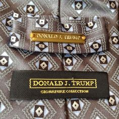 Signature Collection Tie. President Donald J.Trump. 100% Silk. In delightful pre owned condition. No flaws or issues sighted on close inspection. | eBay!