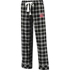 Washington State Cougars Concepts Sport Women's Captivate Allover Print Sleeper Pajama Pants - Black - $27.99