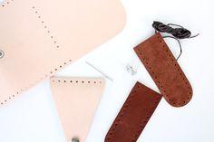 Poppytalk: DIY Leather Pouch