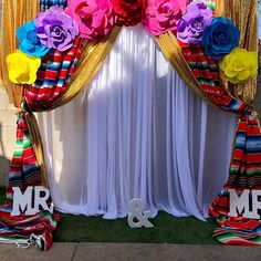 "SpecialCreations_byAdayG on Instagram: ""Back drop!!! Fiesta mexicana backdrop seguimos con más detalles de esta hermosa boda!! #backgrounds #backdropphotobooth #backdrop…"""