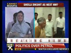 Delhi Chief Minister Sheila Dixit has met UPA chairperson Sonia Gandhi today. According to sources, during the cabinet reshuffle Sheila could be made the next home minister...Sheila Dixit meets Sonia Gandhi  http://www.newsx.com/videos/sheila-dixit-meets-sonia-gandhi