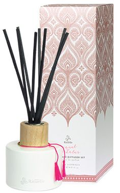 Urban Rituelle - Dreamweaver - Coconut & Lotus - Fragrant Diffuser Set. A strikingly beautiful aquatic fragrance with a tropical twist, blending delicate lotus blossoms, powdery musk & a sprinkle of sweetened coconut. Designed to whisk you away to paradise. Featuring the evocative scents of our favourite tropical getaways, this premium Australian made diffuser will have you holidaying in your very own home for many months to come.