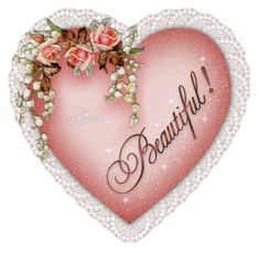 Heart Beautiful Images, Graphics, Comments and Pictures - Orkut, Friendster, & You Are Beautiful, Beautiful Images, Beautiful Hearts, Beautiful Friend, Animated Heart Gif, Ronsard Rose, Hearts And Roses, Pink Hearts, I Love Heart