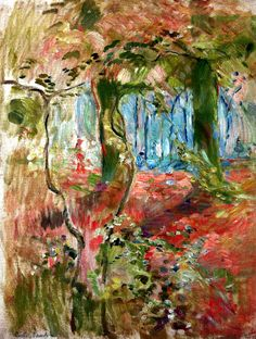 Undergrowth in the Fall Berthe Morisot