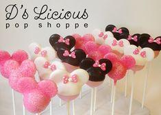 Minnie Mouse Cake Pops ~D's Licious Pop Shoppe