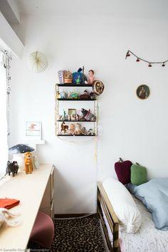 Corner of girl's room.