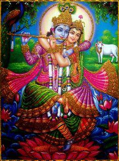 Radha and Krsna