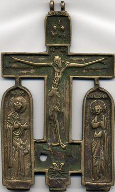 Крест-распятие, Россия, 19 в., частное собрание