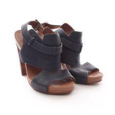 Trendige Sandaletten von Marc O Polo in Blau Gr. EU 37