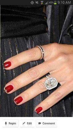 Rachael Zoe wedding ring. Gorgeous!!