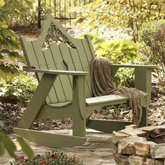 Uwharrie Chair Veranda Double Rocking Chair