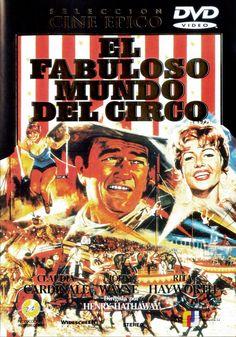 El fabuloso mundo del circo (1964) EEUU. Dir: Henry Hathaway. Drama. Aventuras - DVD CINE 789