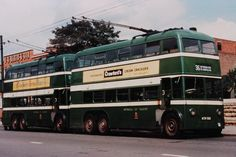 Two trolleybuses standing at Nottingham road. These vehicles had Brush bodies and English Electric 410 Electrical Equipment Nottingham Road, Busses, Coaches, Electrical Equipment, Trains, Transportation, English, Memories, Cars