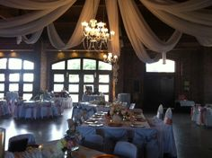 Frazier Alumni Pavilion // this is a different way to style the venue, loves it!