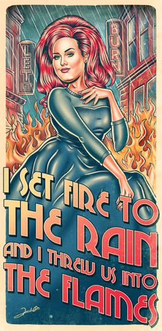I Set Fire To The Rain – renato artes